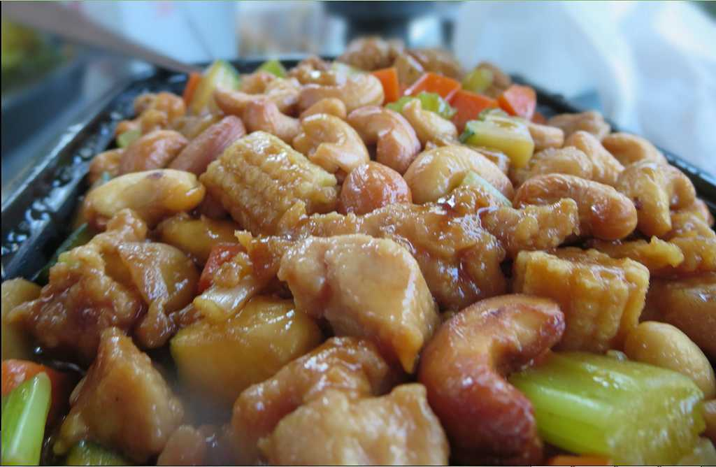 Crispy Cashew Chicken
