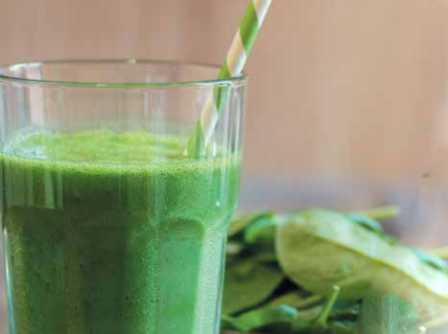 BABY SPINACH JUICE