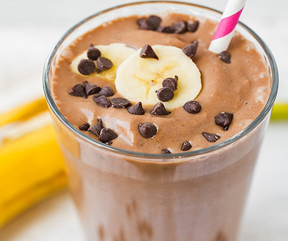 Chocolate Peanut Butter Banana