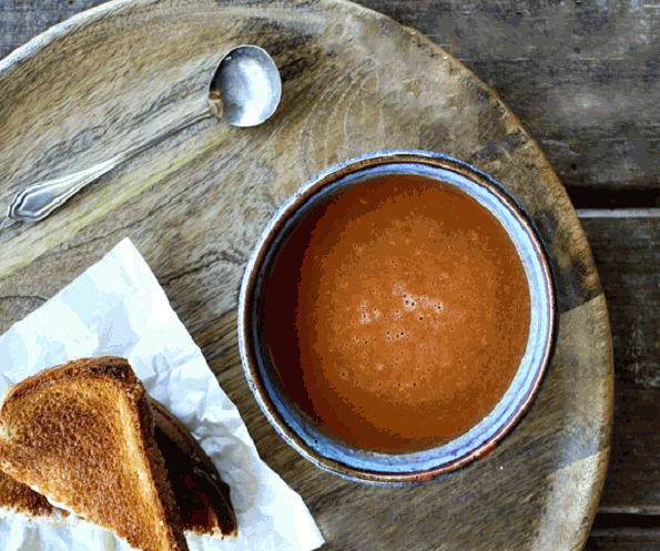 Creamy Tomato Soup from Scratch